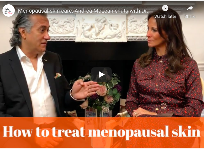 Dealing with menopausal skin problems