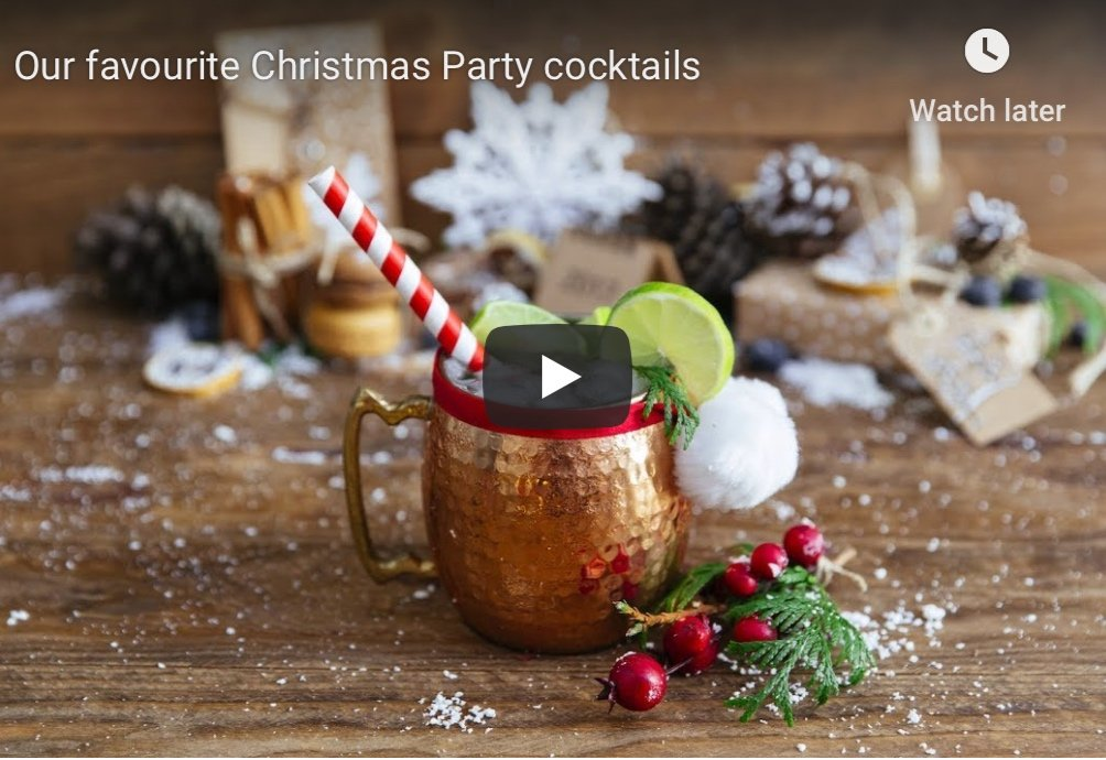 Our favourite Christmas party cocktails