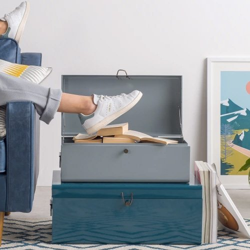 Sort the clutter with Made storage trunks