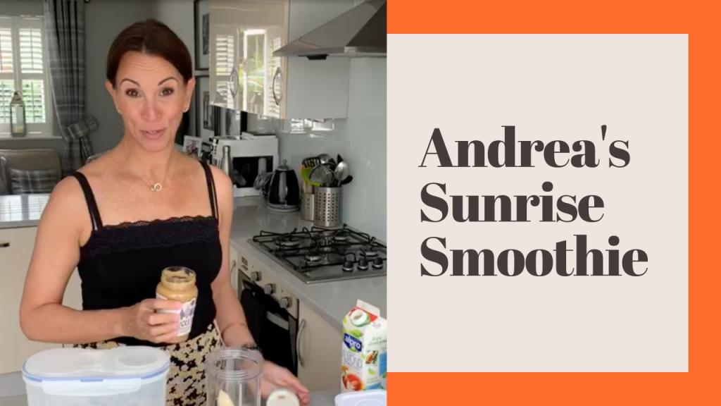 Andrea's sunrise smoothie