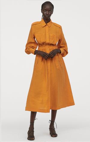 Lyocell-blend dress, £49.99