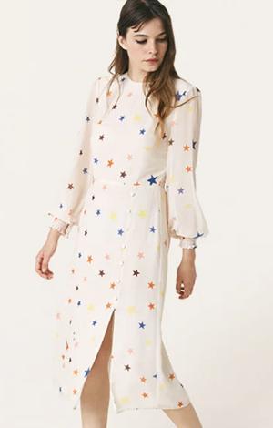 Cream Star Georgie Midi Dress, £35.00