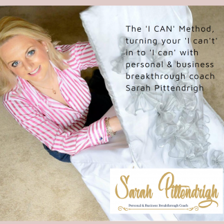 "Breakthrough your ""I can't"" to create your ""I can""!"