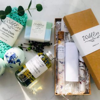 Soothe Me – Beautifully handmade natural bath products (large gift box)