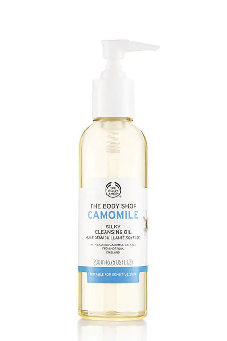 The Body Shop Camomile Silky Cleansing Oil, £12