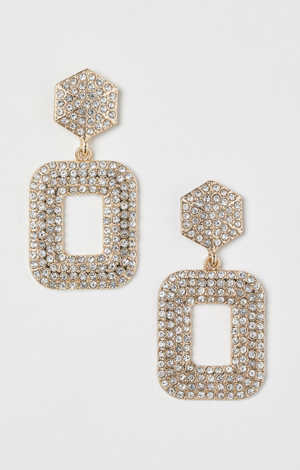 Sparkly Earrings, £6.99, H&M