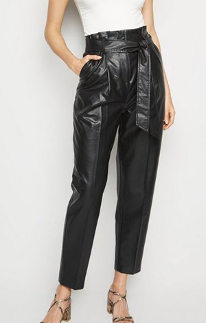 Leather-Look Trousers, £25.99, New Look