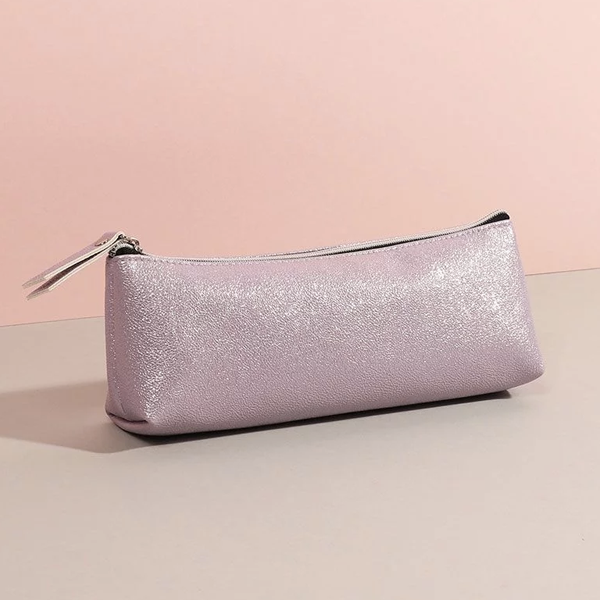 Pink pencil case, £6, Paperchase