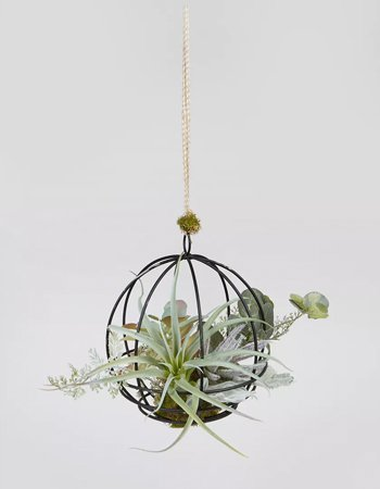 Artificial hanging plant, £14, Matalan