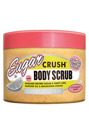 Soap & Glory Sugar Crush Body Scrub, £8, Boots