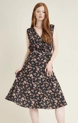 Redwoods wrap dress, £43
