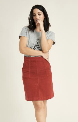 Lauca corduroy skirt, £75