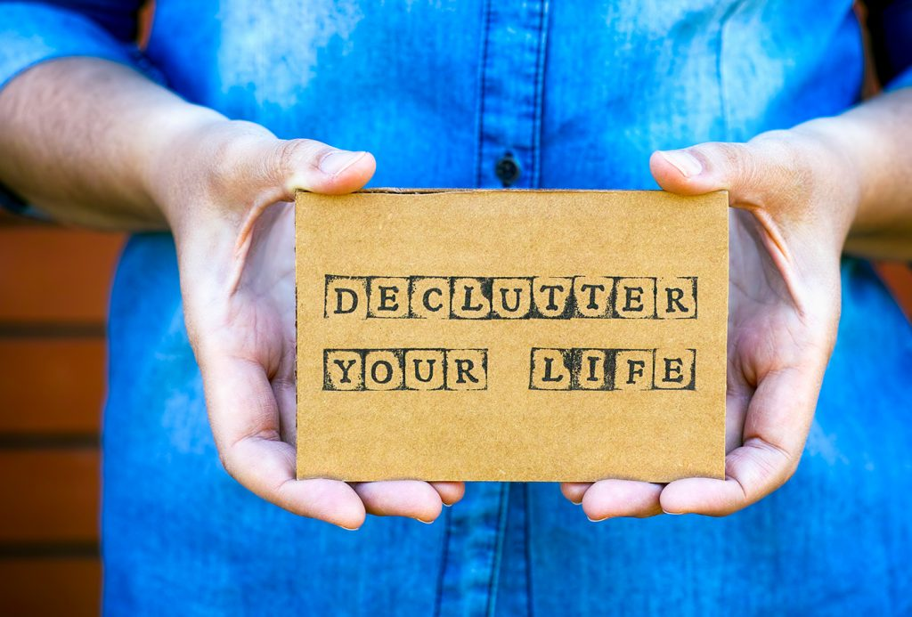 Surviving lockdown: Decluttering tips to help you feel in control