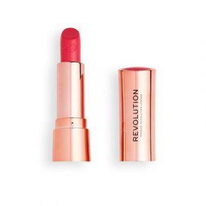 Satin Kiss Lipstick in Cutie, £5, Revolution Beauty