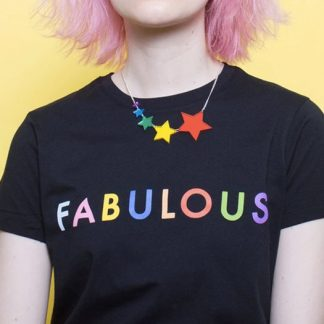 Tatty Devine Shooting Stars necklace