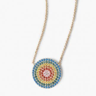 Hush Izel Rainbow necklace