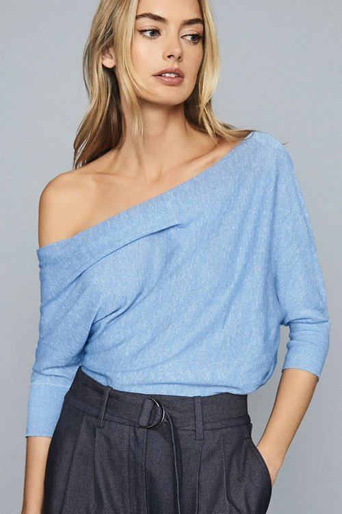 Linen top from Reiss - perfect for any summer wardrobe