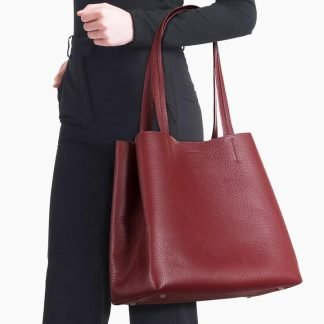 Michelle Carryall Tote – Burgundy