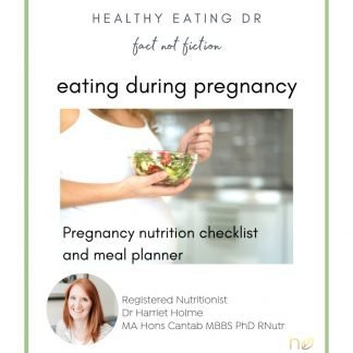 FREE what to eat while breastfeeding nutrient checklist