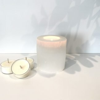 Selenite tealight - Naturally Essential