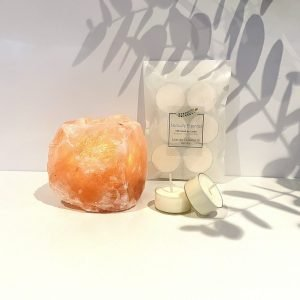 Naturally Essential Himalayan Salt Lamp Tealight Holder