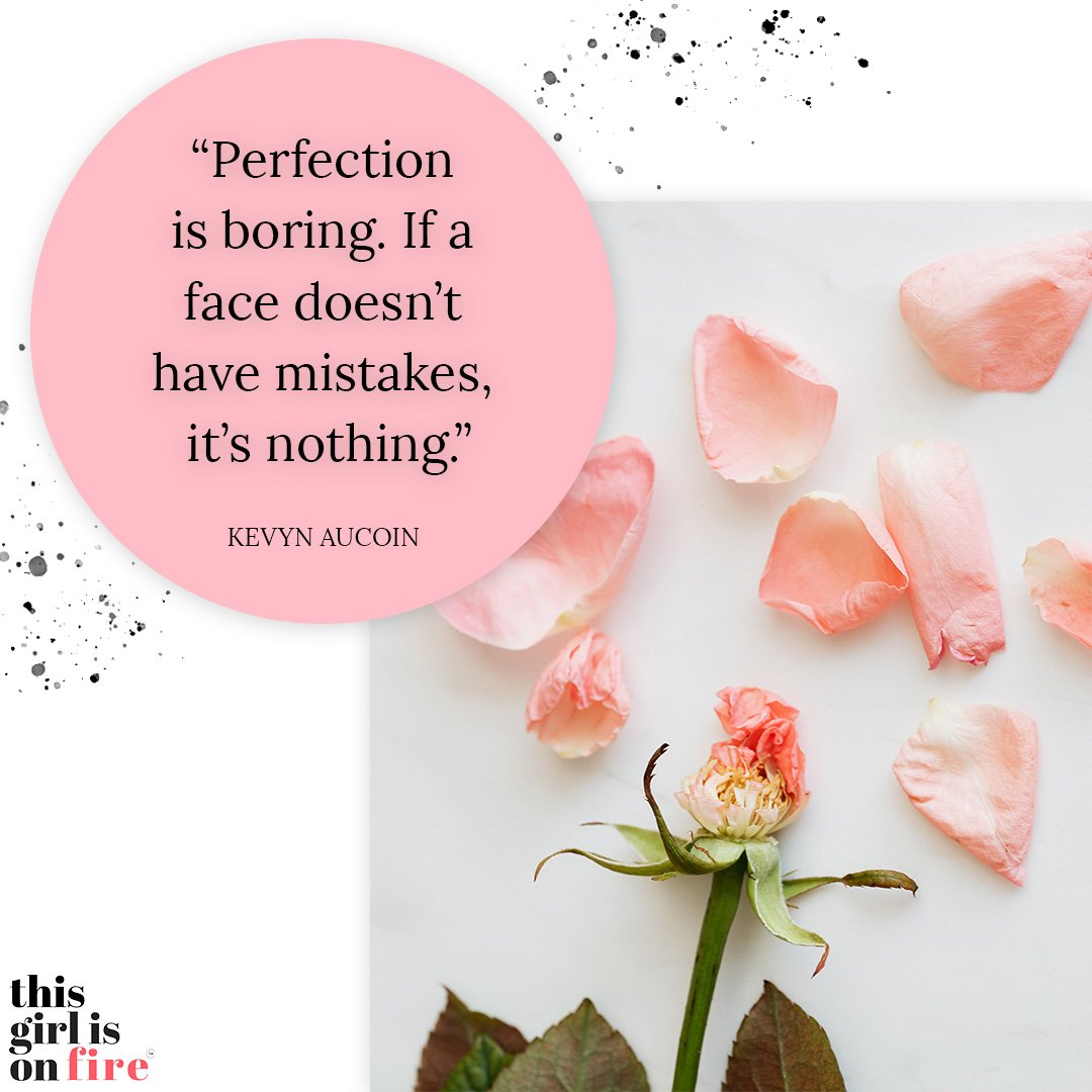 Kevyn Aucoin Perfection quote