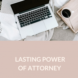 Lasting Power of Attorney – Single