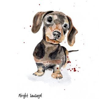 Alright Sausage! art print