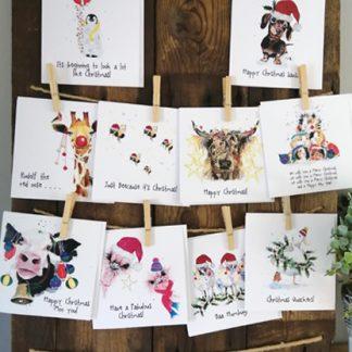 10 Card Christmas bundle
