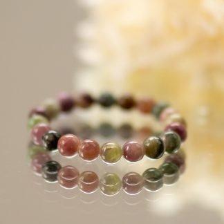 Multi Coloured Tourmaline Bracelet