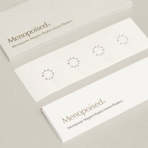Menopoised Menopause Magnet Replacement Plasters