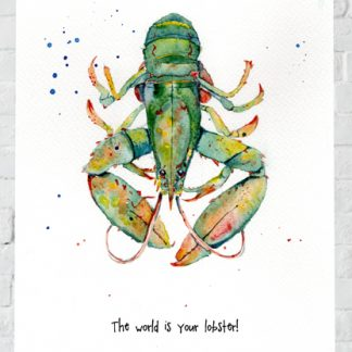 The world is your lobster!