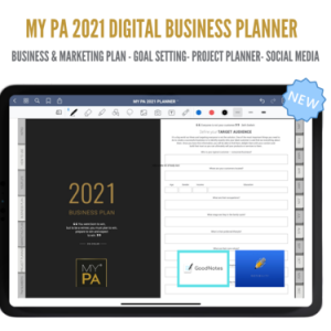 Digital 2021 Business & Life Planner for iPad & Tablets