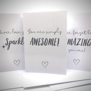 Motivational Greeting Cards Set