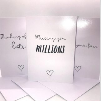 Missing You Greeting Cards Set