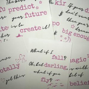 Positivity Postcards Set – With envelopes