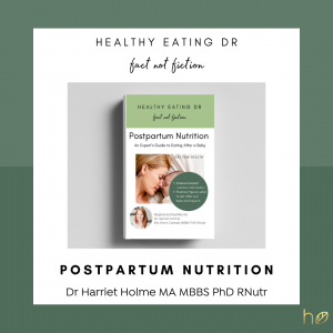 E-Book Postpartum Nutrition: An Expert's Guide to Eating After A Baby