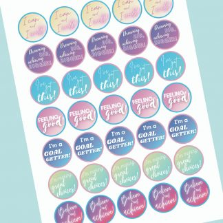 Adult Journal Stickers