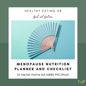 FREE Best Foods For The Menopause And Perimenopause Nutrient Checklist