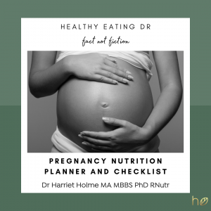 FREE What To Eat During Pregnancy Checklist
