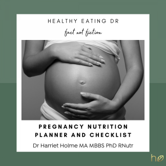 Get your FREE what to eat during pregnancy checklist