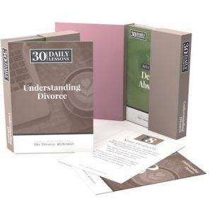 Understanding Divorce – 30 Days to Learn Flash Cards