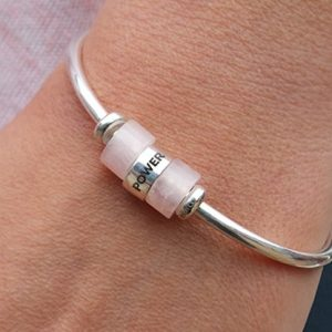 Silver Connection Cuff and Bead Bundle