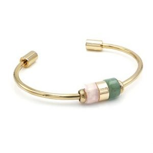 Gold Connection Cuff and Beads Bundle