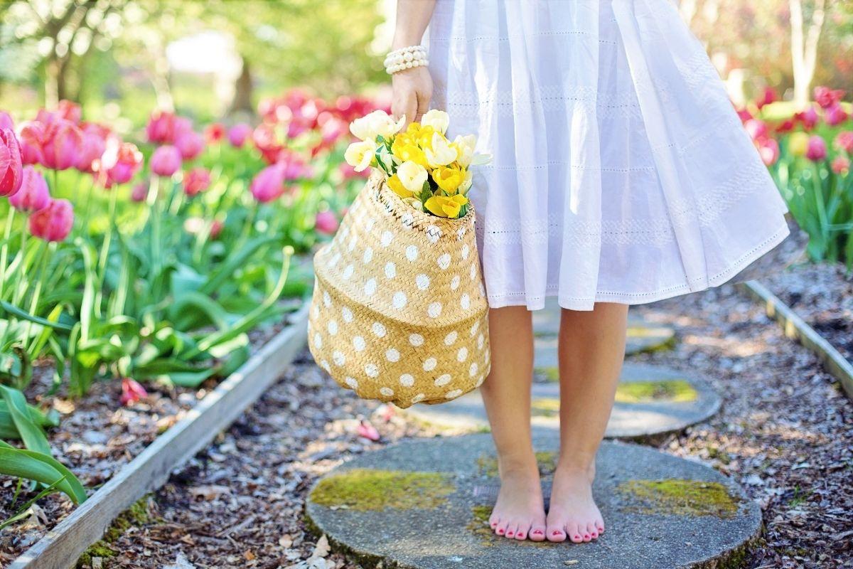 Stepping into springtime habits