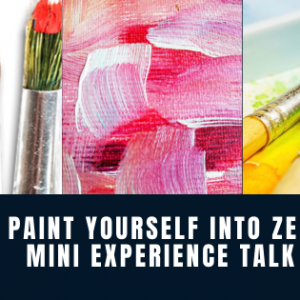 Paint yourself into zen