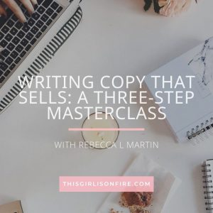 Learn how to write copy that sells – in just three hours!