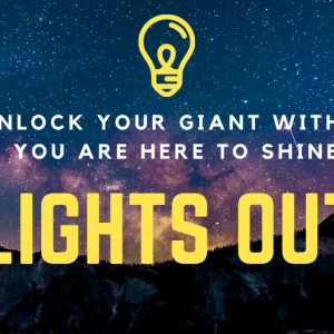 Unlock your giant within