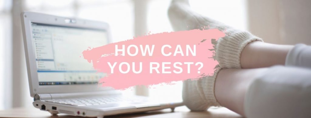 tips on how to rest